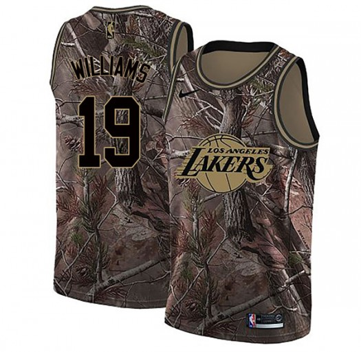 Youth Johnathan Williams Los Angeles Lakers Nike Swingman Camo Realtree Collection Jersey